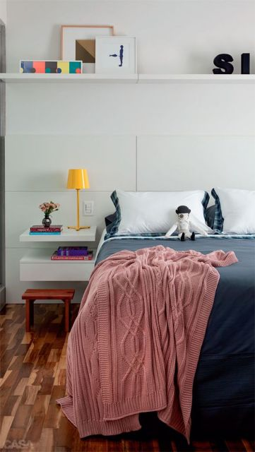 móveis brancos quarto de casal