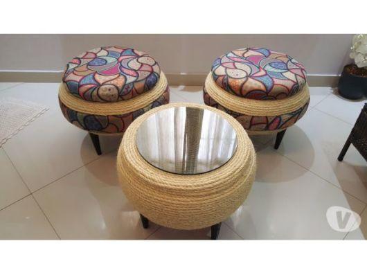 modelo de sisal com almofada