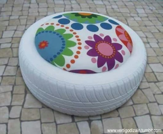 pneu branco