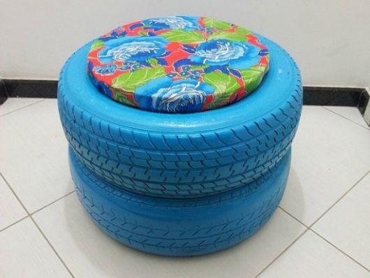 Adesivo Para Reposição Hormonal ~ Puff de pneu 62 modelos e passo a passo!