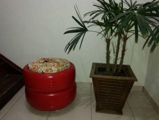 decoração com planta