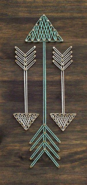quadros artesanais flechas