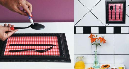 quadros artesanais para cozinha