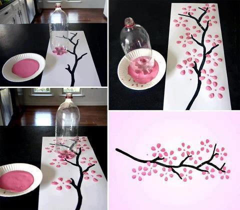 quadros artesanais textura