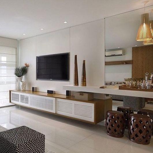 Salas planejadas dicas e 70 projetos lindos for Salas chiquitas modernas