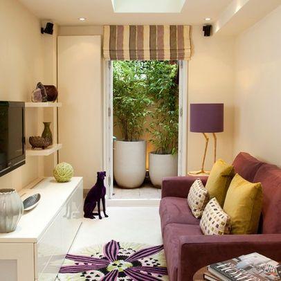 sofá colorido decoração