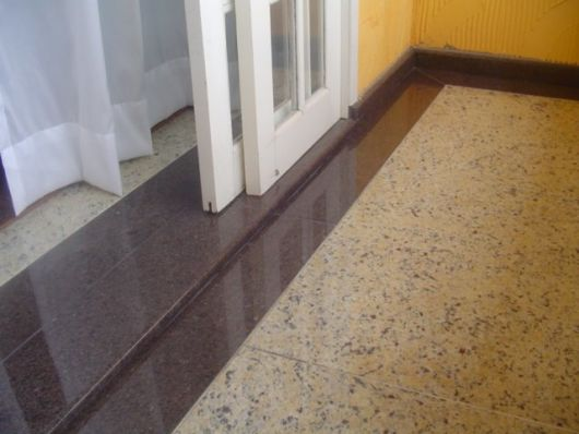 Soleiras como e onde usar dicas para n o errar for Modelos de granitos para pisos