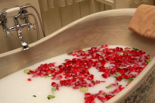 spa em casa banheira