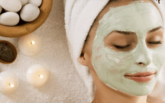 spa em casa máscara facial