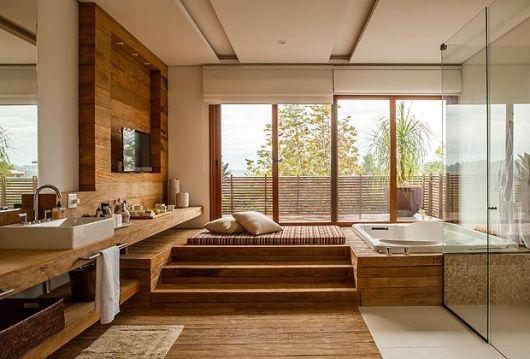 spa em casa - no banheiro