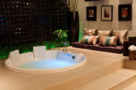 spa em casa projeto