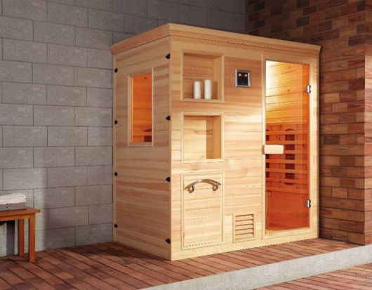 spa em casa sauna