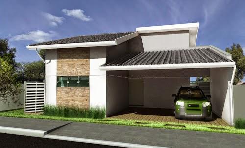 telhados modernos aparente