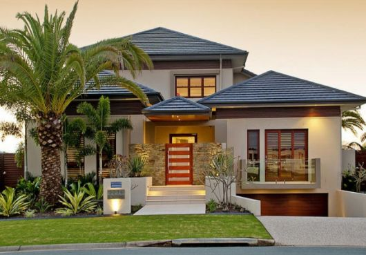 telhados modernos aparentes