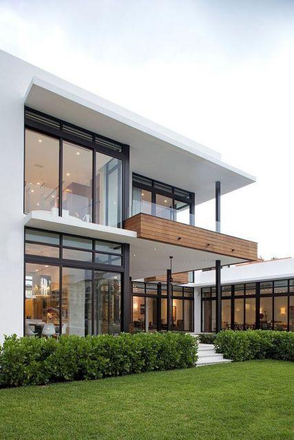 telhados modernos embutido branco