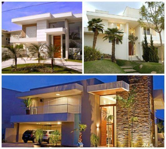 telhados modernos sobrado embutidos
