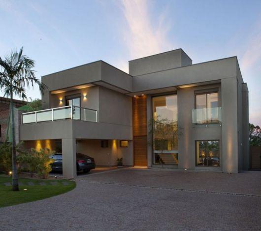 telhados modernos sobrado