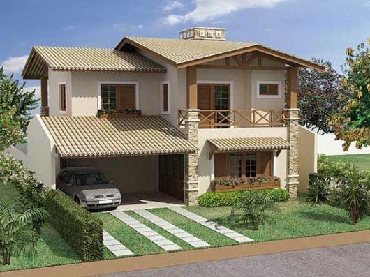 telhados modernos sobrados