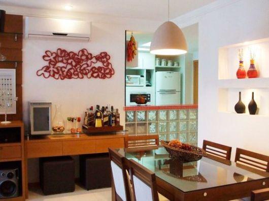 Sala De Jantar Com Parede De Vidro ~ Tijolo de vidro modelos, preços e como usar na decoração!