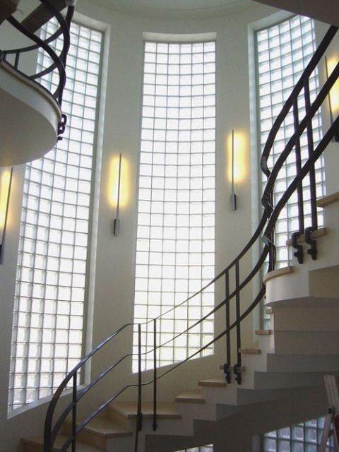 parede escada