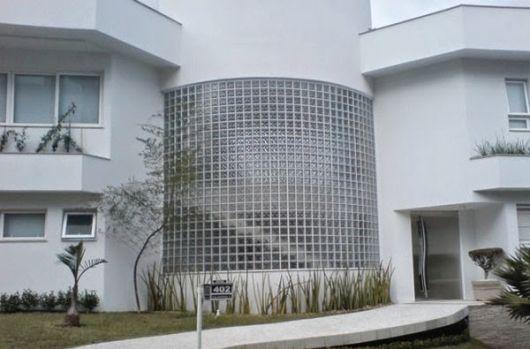 fachada com curvas
