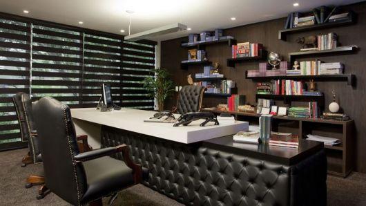 decora o de escrit rio de advocacia dicas e 29 modelos. Black Bedroom Furniture Sets. Home Design Ideas