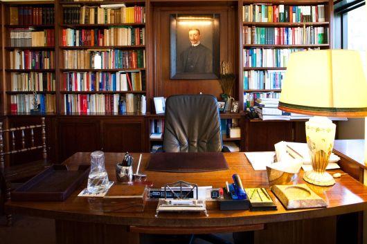 Decoração de Escritório de Advocacia livros