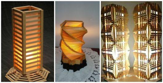 modelos de abajur/ luminária