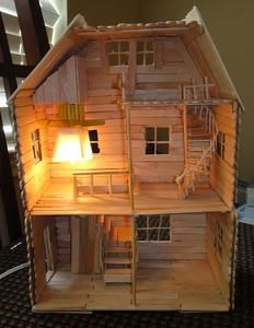 how to make a big doll house out of wood