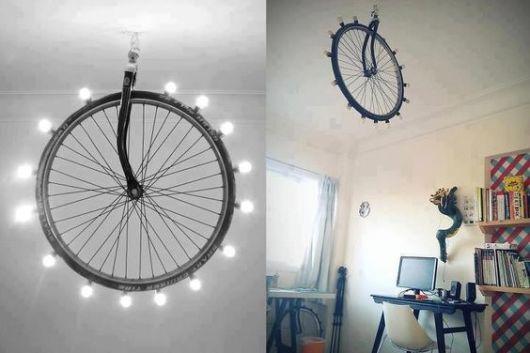 lustre de pneu de bicicleta