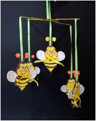 móbile abelhas