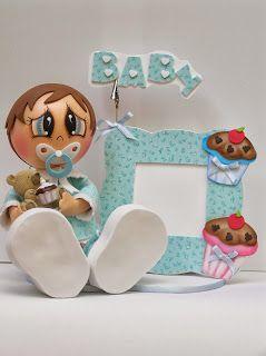 porta retrato bebê