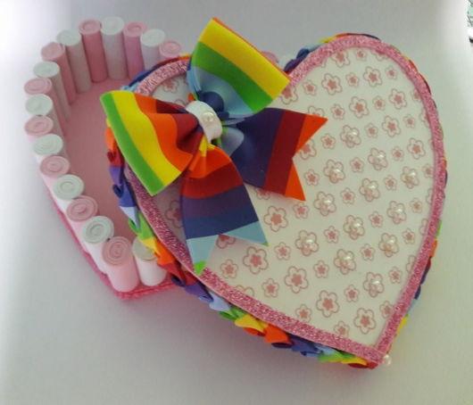 porta joia coração