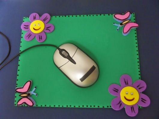 mousepad decorado