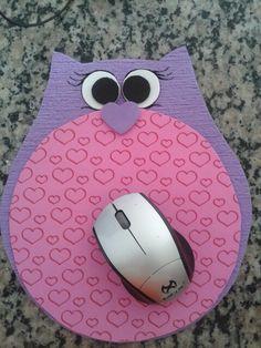 mousepad coruja