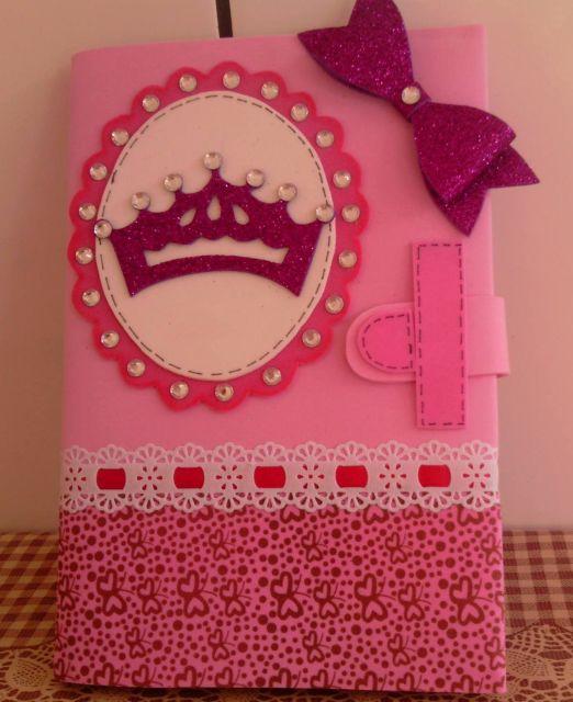 capa de caderno decorado