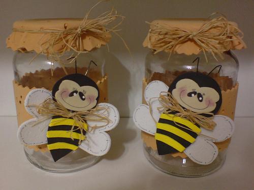 decoração abelha