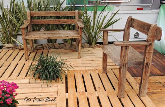 artesanato mini jardim:Artesanato em madeira: 69 ideias incríveis e tutoriais!