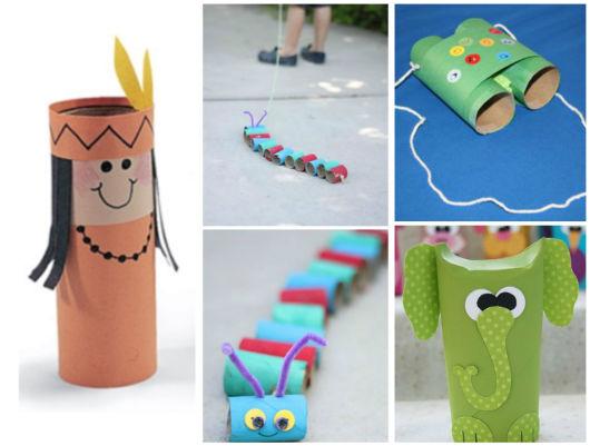 Brinquedos reciclagem