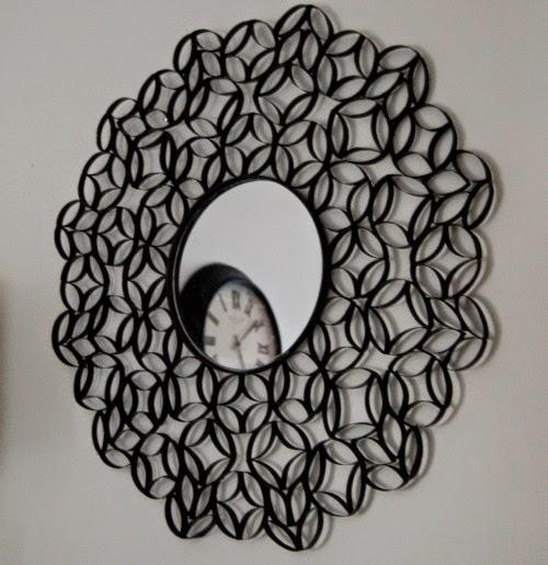 Espelho redondo decoração