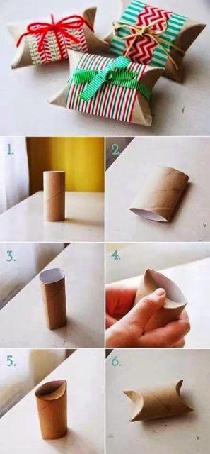 Embalagem de presente como fazer