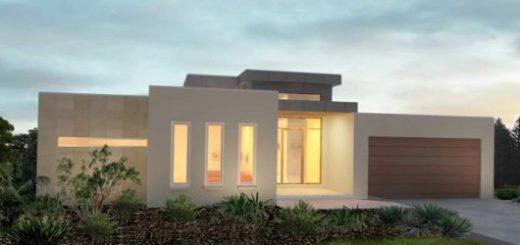 30 casas estilo americano fachadas e interiores Casas estilo minimalista interiores