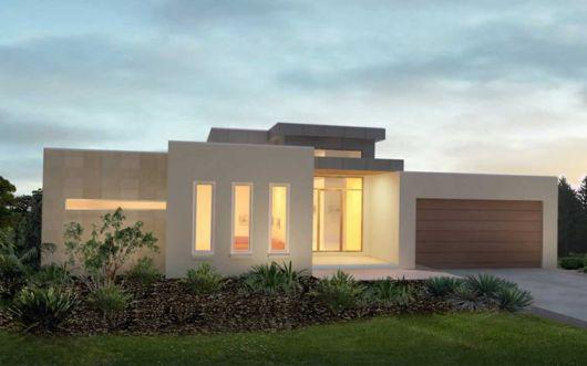 casa no campo minimalista