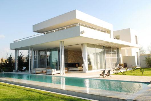casas minimalistas campo como é