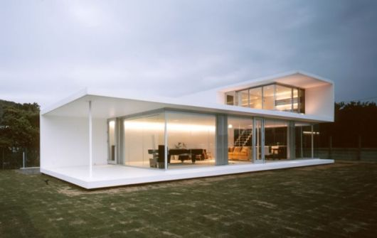 casas minimalistas campo