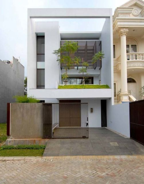 Casas minimalistas 40 inspira es de fachadas e interiores for Casas minimalistas pequenas