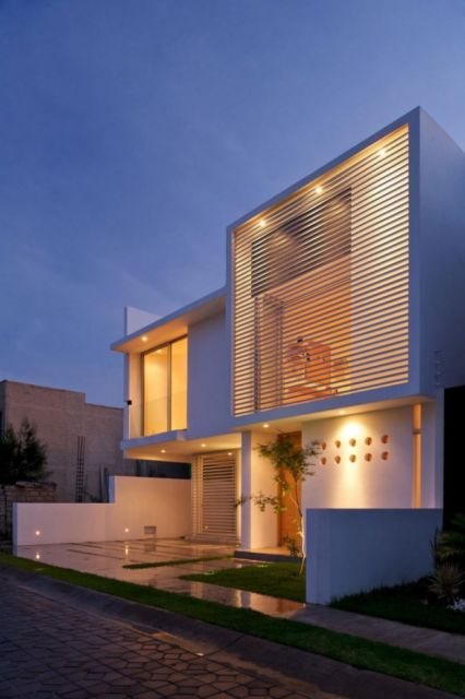 casas minimalistas sobrado