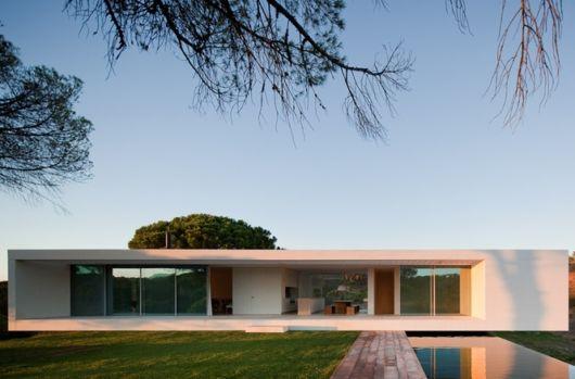 casas minimalistas terrea ideia