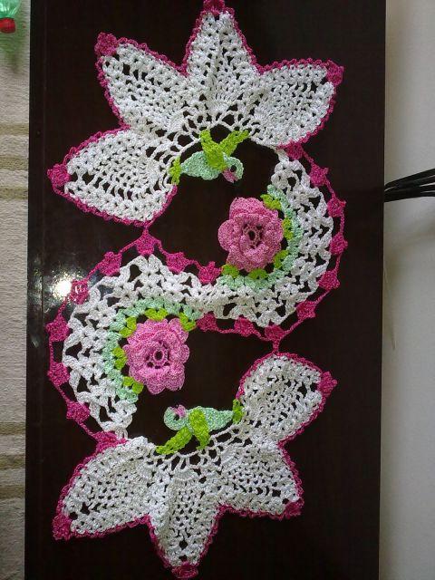 Espiral com beija-flor
