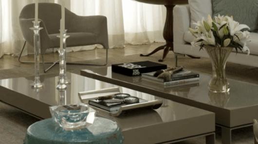 cor fendi na decoração - na sala móveis
